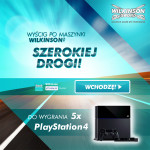 Wygraj PlayStation 4 – wyścig Wilkinson
