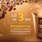 Kawa za darmo w McDonald's 2014