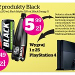Konkurs Black – wygraj PlayStation 4