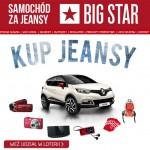 Samochód za jeansy – kup jeansy i wygraj auto w Big Star