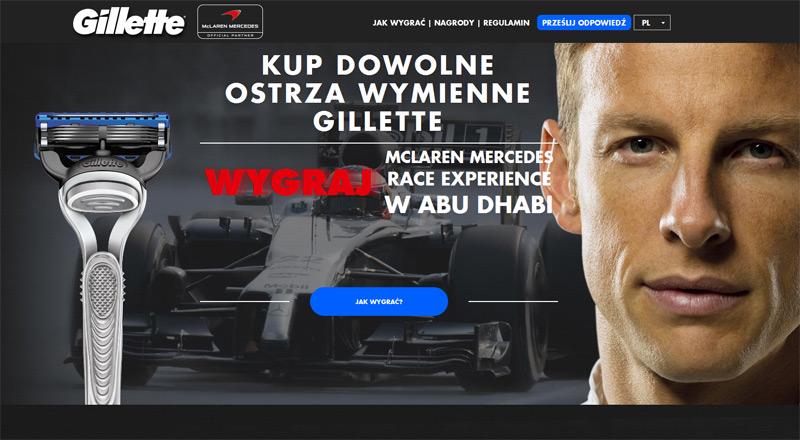 Wygraj wyjazd na McLaren Mercedes Race