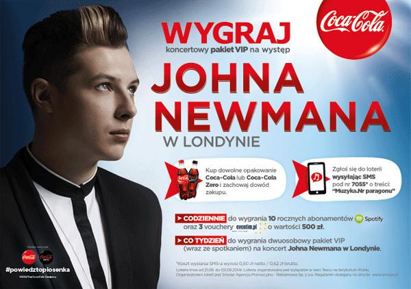 Wygraj wyjazd na koncert Johna Newmanna