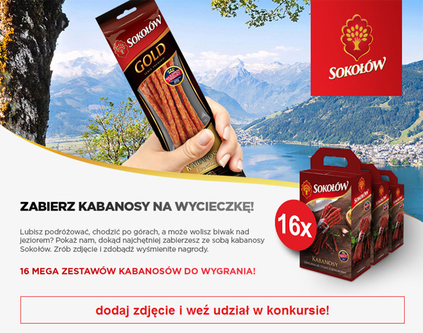 Wygraj zestaw kabanosów Sokołów