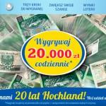 Hochland 20 lat loteria – wygraj 20 000 zł