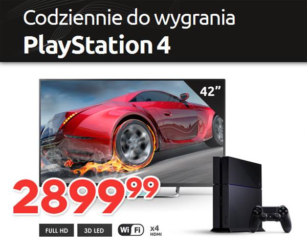 Wygraj PlayStation 4