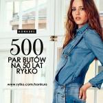 Wygraj bon RYŁKO – 500 par butów na 50 lat