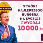 Mój burger – stwórz burgera i wygraj pieniądze