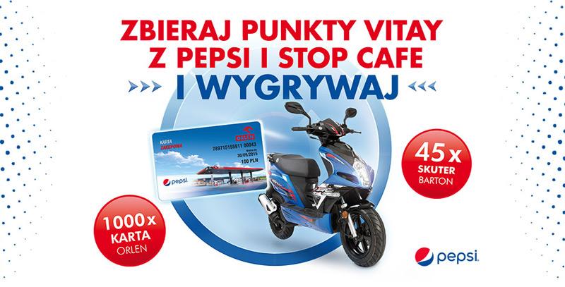 Zbieraj punkty Vitay z Pepsi i Stop Cafe