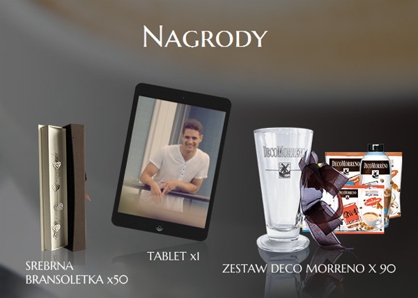 Wygraj tablet iPad Air w konkursie DecoMorreno