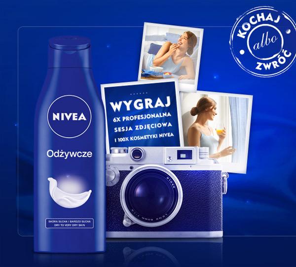 Kochaj albo zwróć – wygraj kosmetyki NIVEA