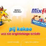 Pij kakao Mix Fix Kruger i ucz się angielskiego