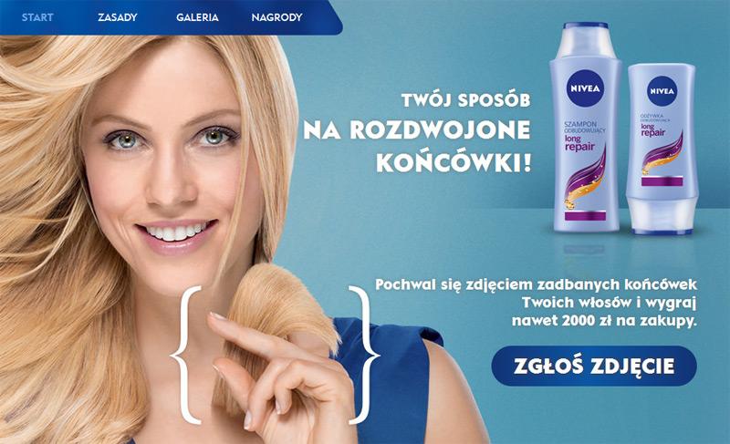 Nivea Long Repair – wygraj 2000 zł