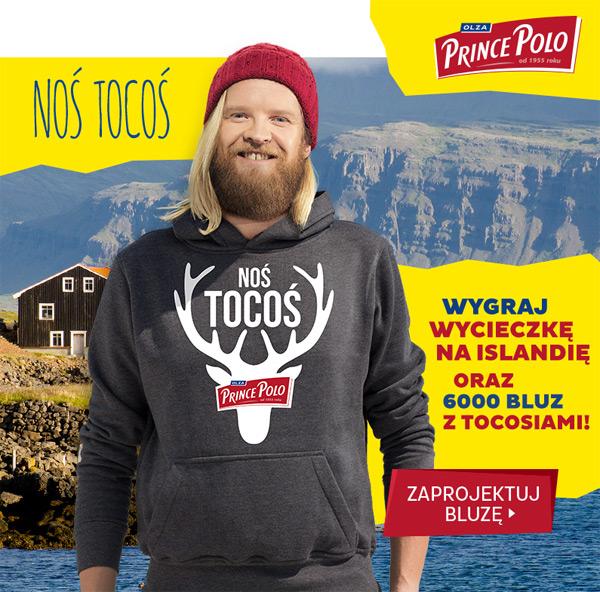 Prince Polo Noś tocoś – wygraj bluzę