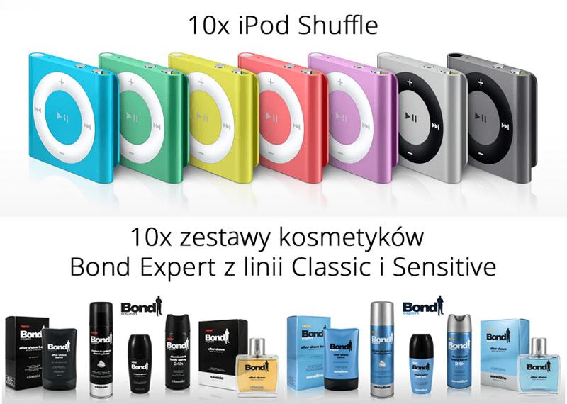 Pokaż Bonda ukrytego w sobie – wygraj iPod Shuffle