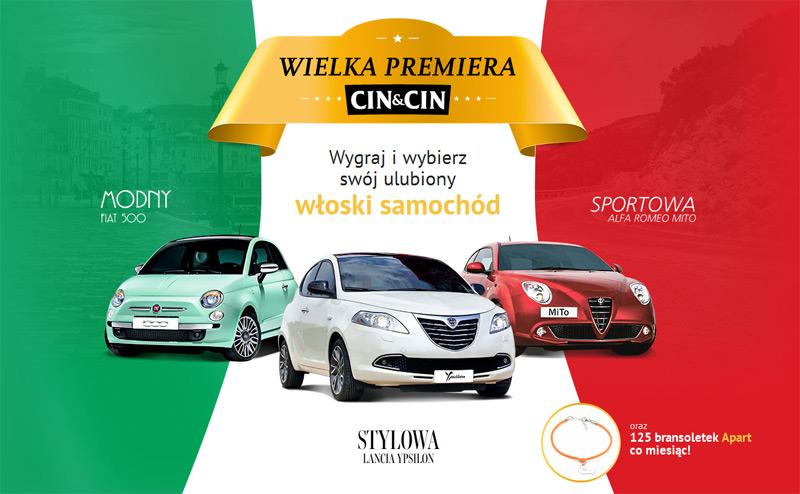 Włoski styl Cin&Cin – wygraj samochód