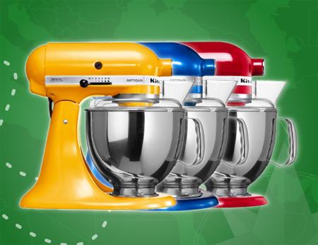 Wygraj Kitchen Aid w wybranym kolorze