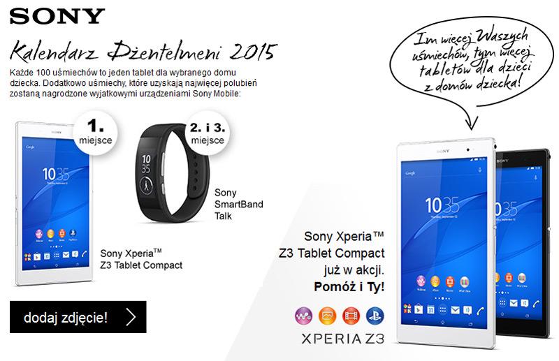 Wygraj Sony Xperia Z3 Tablet Compact