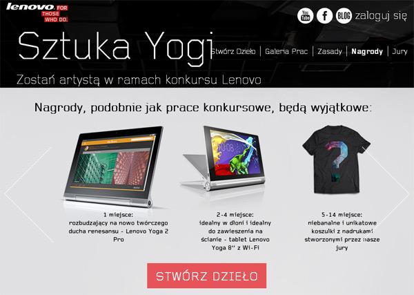 Wygraj Lenovo Yoga 2 Pro