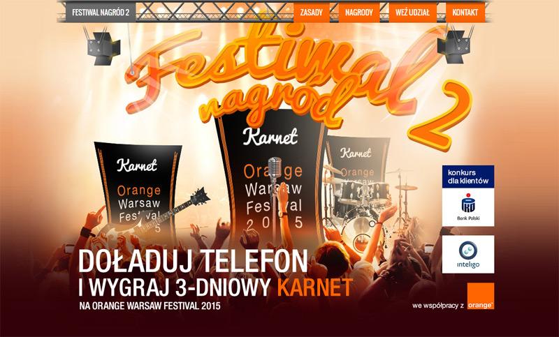 Wygraj zaproszenie na Orange Warsaw Festival 2015