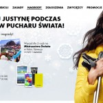 Wygraj Samsung Galaxy S5 – Kibicuj Justynie konkurs