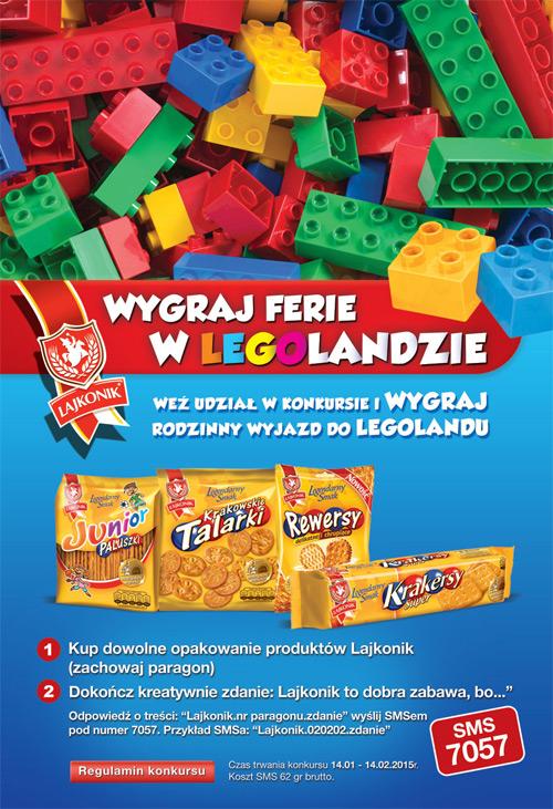 Wygraj wycieczkę do Legolandu – Lajkonik w Żabce