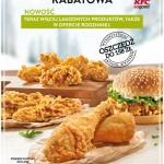 Kupony rabatowe KFC (luty 2015)