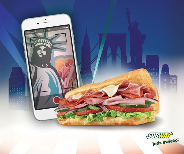 Wygraj iPhone 6 – konkurs Subway