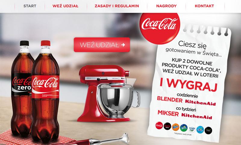 Konkurs Coca-Cola w Tesco – wygraj blender lub mikser KitchenAid