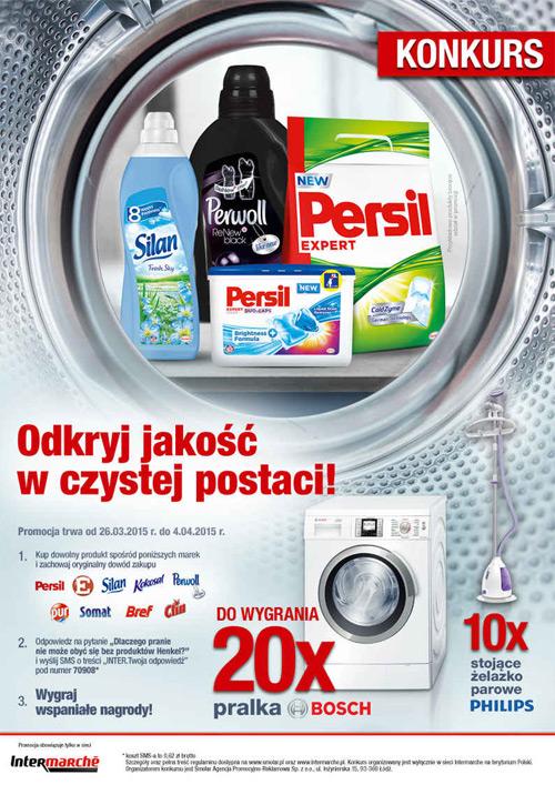 Wygraj pralkę Bosch – Odkryj jakość w czystej postaci