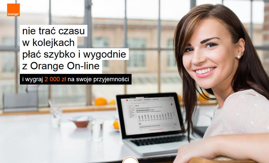 Płatności Orange – wygraj 2000 zł