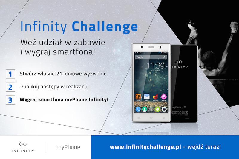 Infinity Challenge – wygraj myPhone Infinity