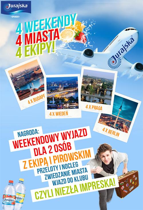Wygraj weekend w Budapeszcie, Wiedniu, Berlinie lub Pradze