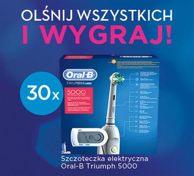 Wygraj szczoteczkę elektryczną Oral-B