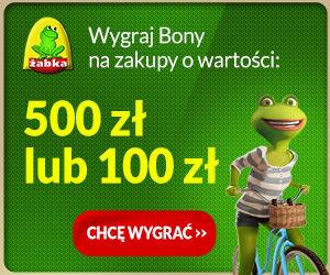 Wygraj bon do Żabki – 100 lub 500 zł