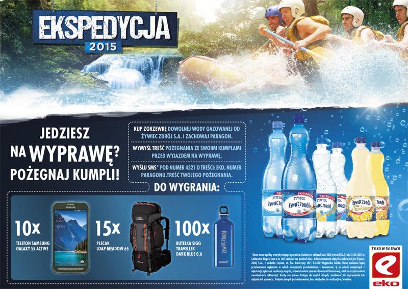 Konkurs Żywiec-Zdrój w sklepach EKO