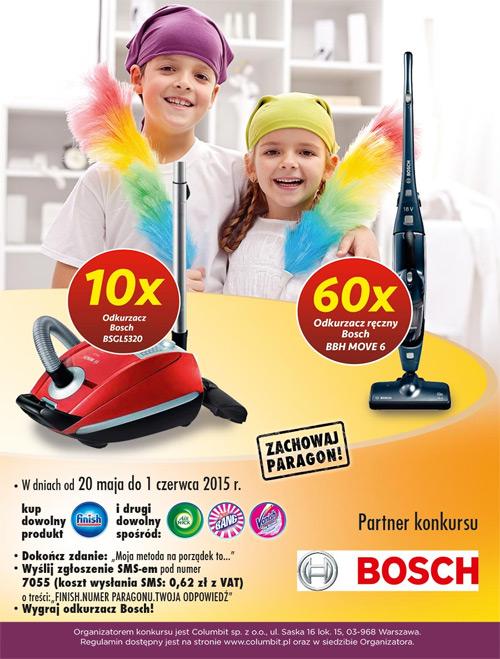 Wygraj odkurzacz Bosch w Carrefour