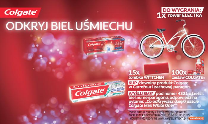 Konkurs Colgate w Carrefour – wygraj rower