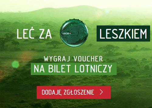 Leć za Leszkiem – wygraj bilety lotnicze