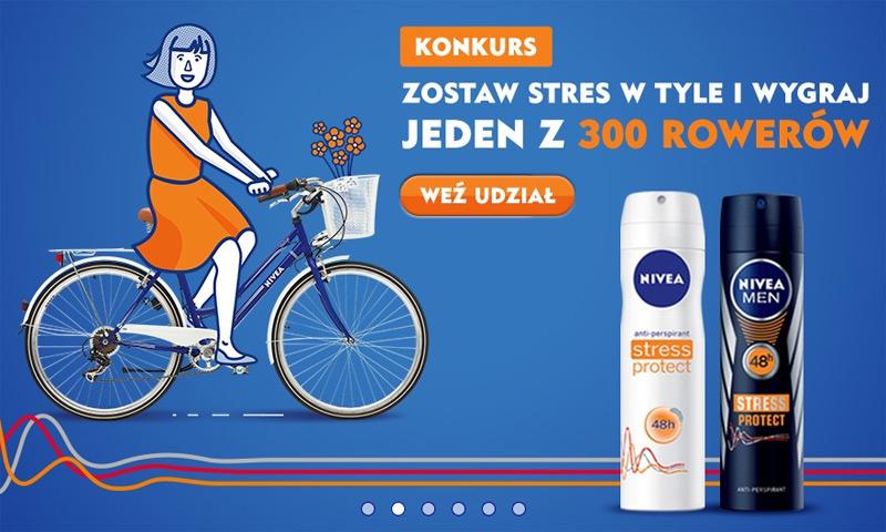 Konkurs Nivea – do wygrania 300 rowerów