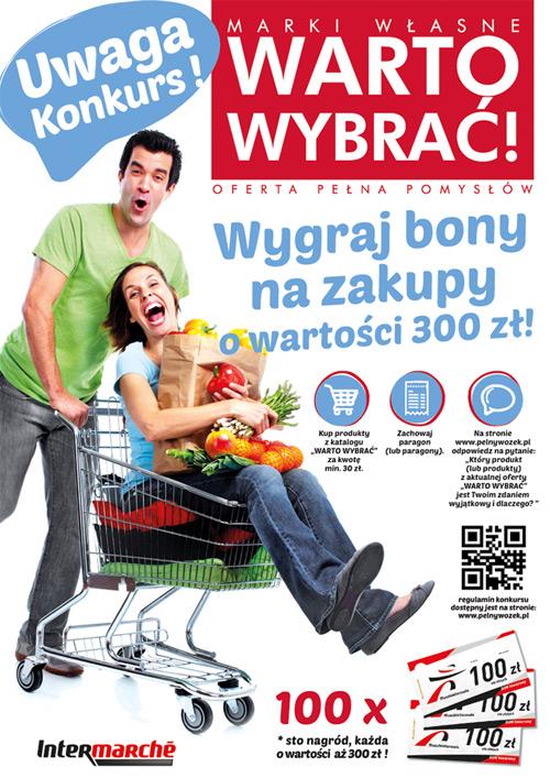 Wygraj bon do Intermarche – Warto Wybrać