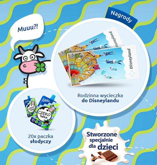 Wygraj wycieczkę do Disneylandu od Wedla