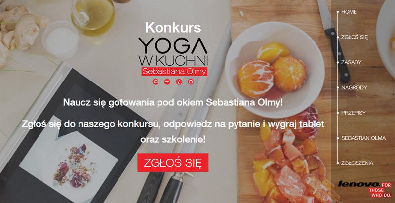 Wygraj ultrabook Lenovo Yoga 3 Pro