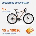 Wygraj rower górski – loteria Nestle w Kaufland