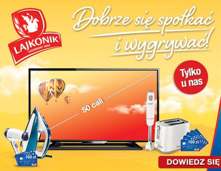 Konkurs Lajkonik w Żabce – wygraj sprzęt AGD lub RTV