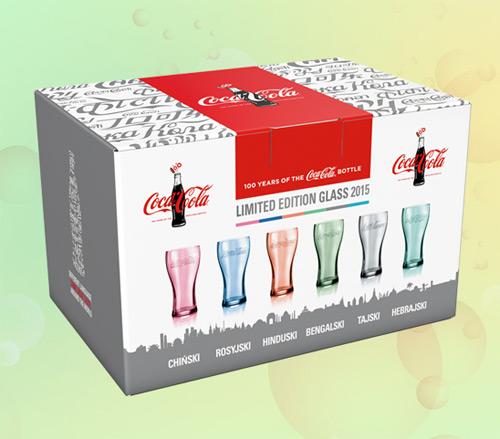 Wygraj zestaw szklanek Coca-Cola od McDonald's