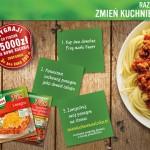 Zmień kuchnię na włoską – loteria Knorr