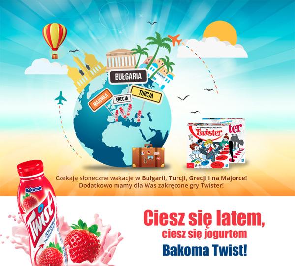 Bakoma Twist and Fly – wygraj słoneczne wakacje