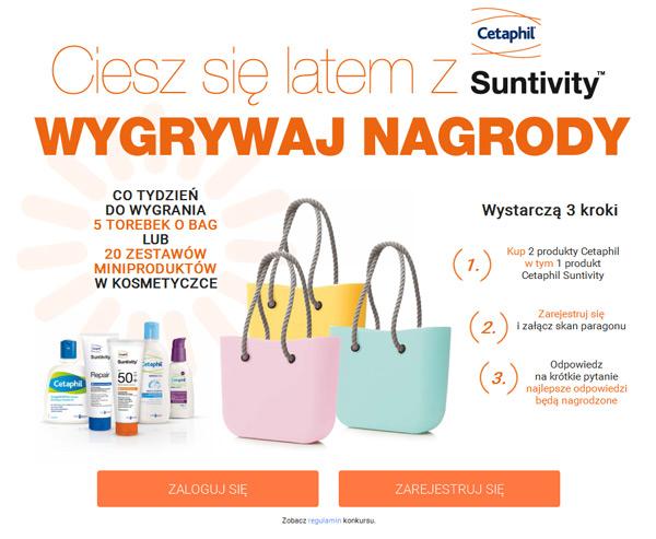 Wygraj torbę O Bag – konkurs Cetaphil