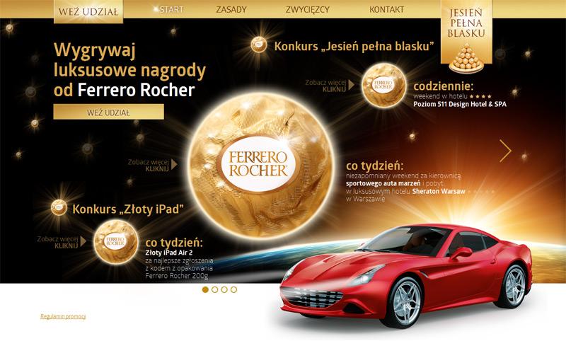 Ferrero Rocher – Jesień pełna blasku