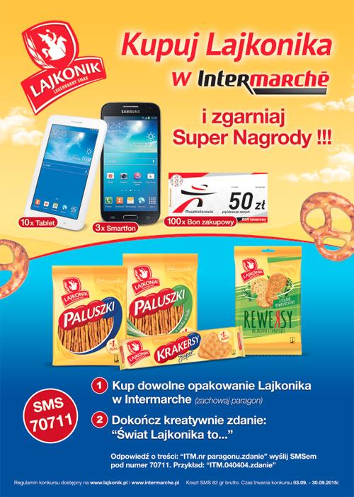 Konkurs Lajkonik w Intermarche